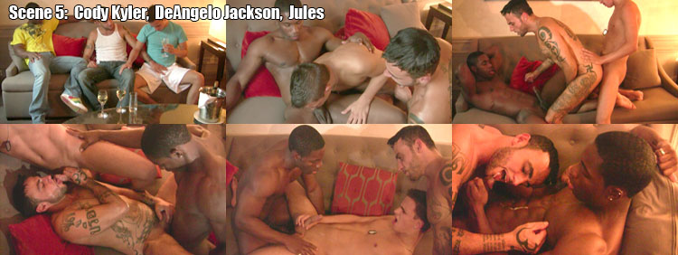 Mixxxed Nuts - Scene 5: Cody Kyler + DeAngelo Jackson + Jules Video Preview