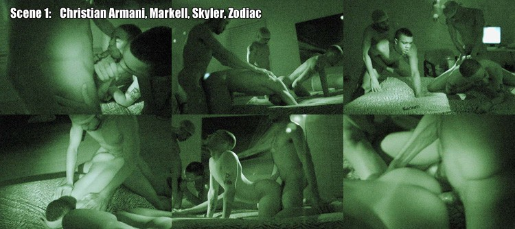 SCENE 1: Christian Armani & Markell & Skyler & Zodiac Video Preview