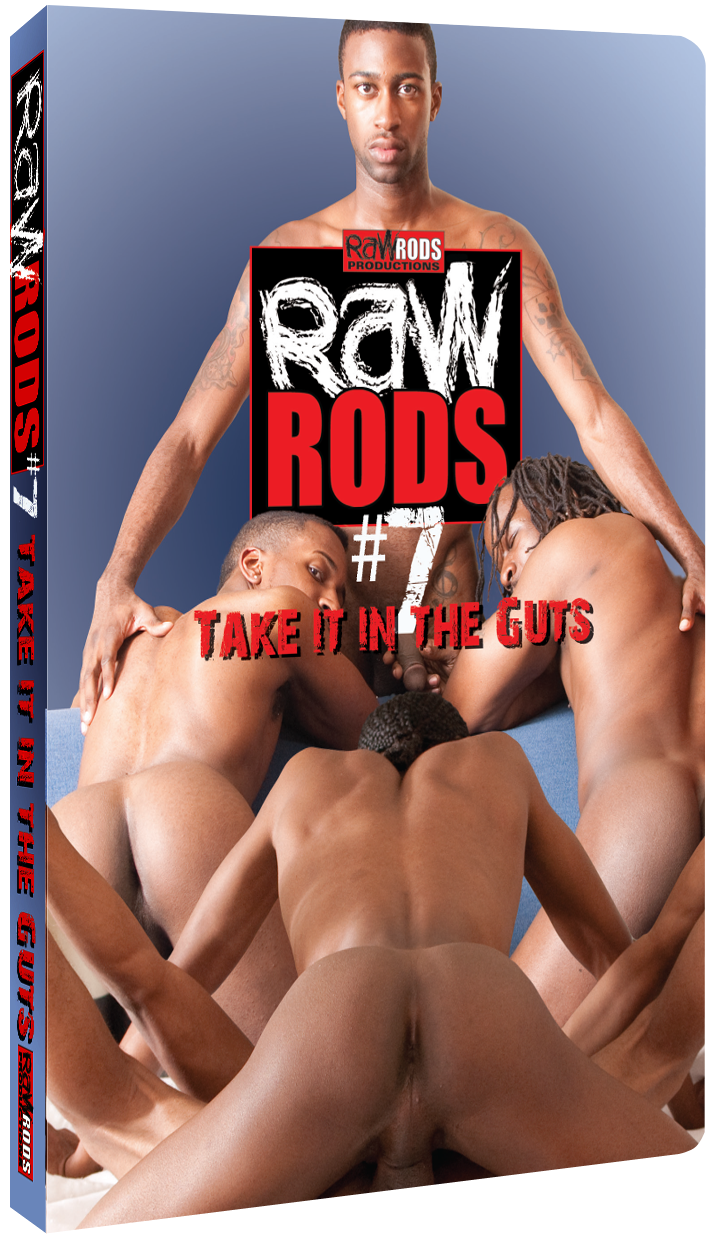 Raw Rods #7: Take it in the Guts DVD Cover