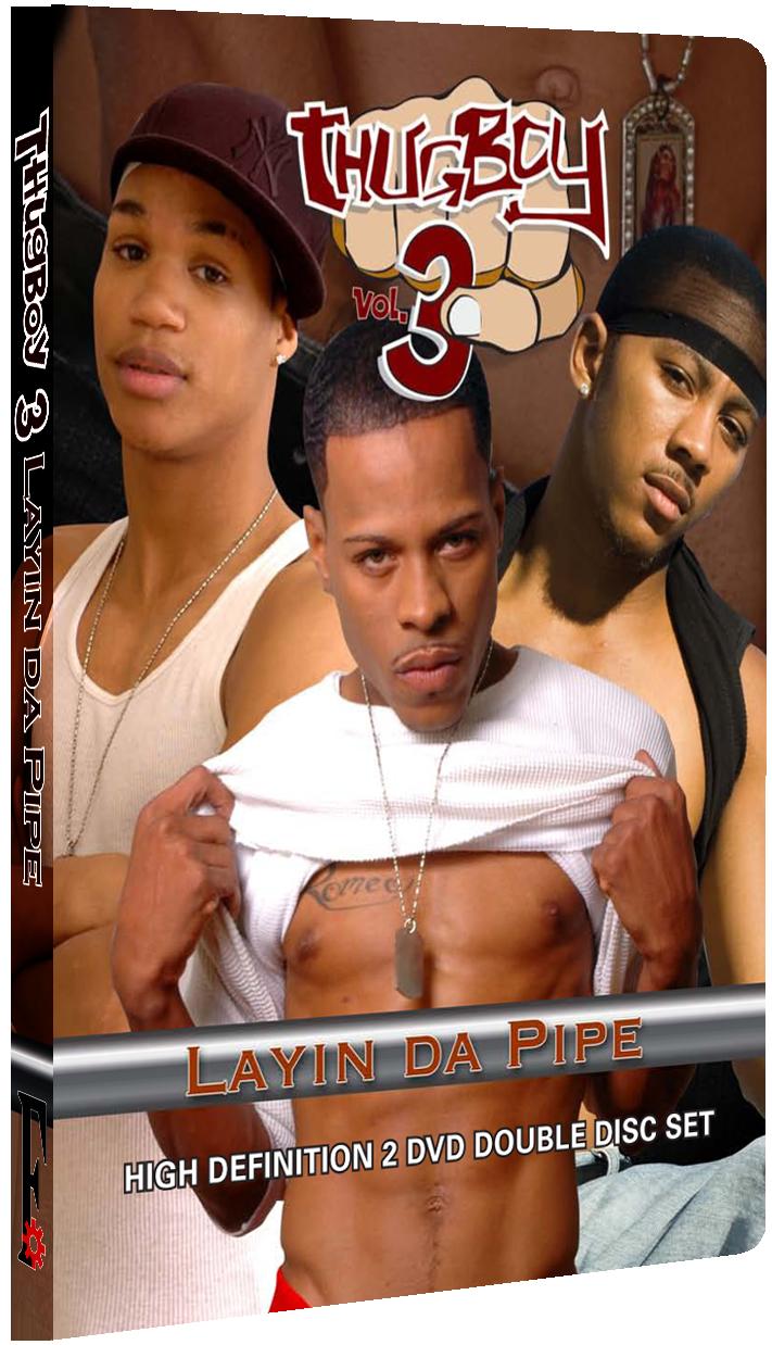 Thugboy V3 - Layin Da Pipe DVD Cover