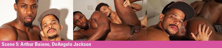 SCENE 5: Arthur Baiano & DeAngelo Jackson - DeAngelo Gets Bred Video Preview